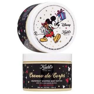 現貨⚠️ Kiehl's x Disney 限量米奇經典潤膚慕斯霜-葡萄柚