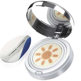Cyber Colours SPF50 Brightening Air Cushion Base