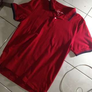 COLLAR SHIRT GIORDANO (NOT PULL AND BEAR, NUDIE,)