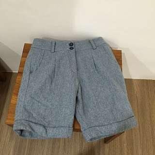 🚚 全新CHARCOAL毛料短褲