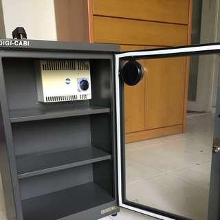 Digi cabi dry cabinet for camera storage to prevent moisture