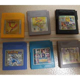 Game boy color gbc games