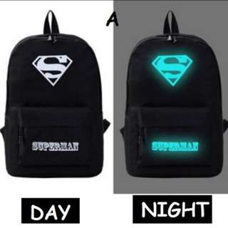 [Glow in the dark] Beg Sekolah Bag pack / School Bag student back pack #midjan55