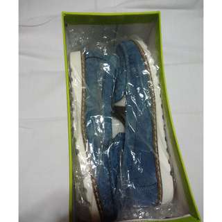 Outland Andi Light Blues Flats/Loafers (37)