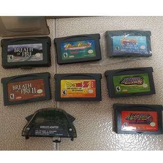 Original GBA games