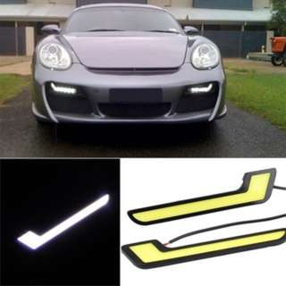 Car Daytime Lights COB 20W LED DRL Fog Driving Lamps