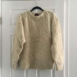 Off White knit jumper