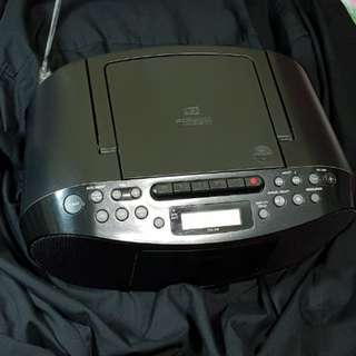 Sony CFD 550 CD Boombox with Cassette.