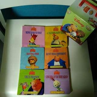 6 Chicken Little hard cover books