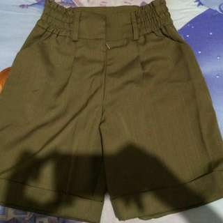 [PRELOVED] Greenish Brown Shorts