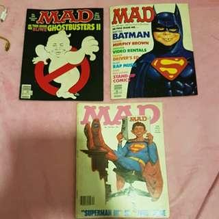3 MAD MAGAZINES