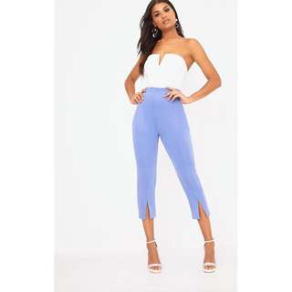 Pretty Little Thing Powder Blue Trousers