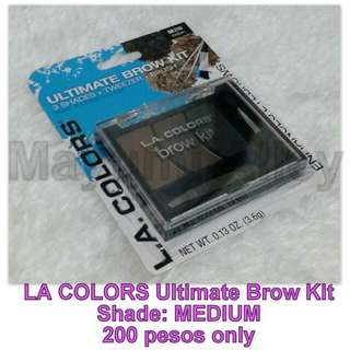 LA COLORS Ultimate Brow Kit