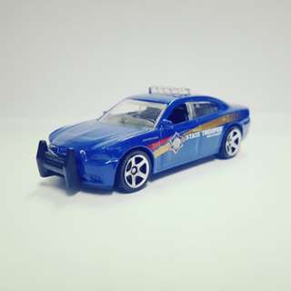Matchbox Dodge Charger Pursuit State Trooper
