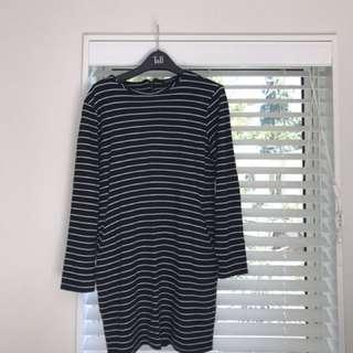 Glassons Striped Bodycon Dress