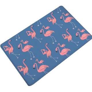 Keset motif flamingo
