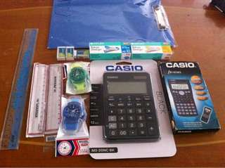 Stationary items for sale