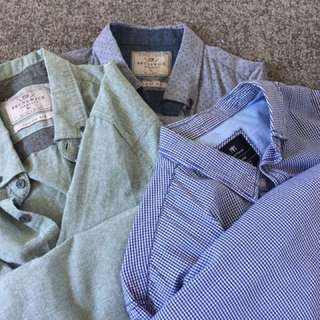 Men's Size XL shirts from cotton on x 3