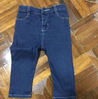 Poney Jeans for 6-12 months