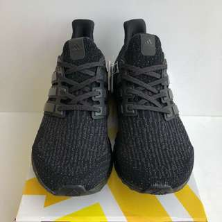 Adidas Ultra Boost 3.0 Triple Black 2.0 Size US 7.5 BRAND NEW