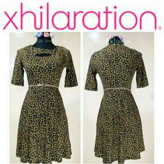 -Yunik- Xhilaration Leopard Print Dress