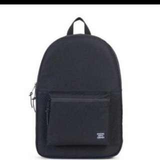 Hershel Supply Co. Settlement Backpack Black Ballistic