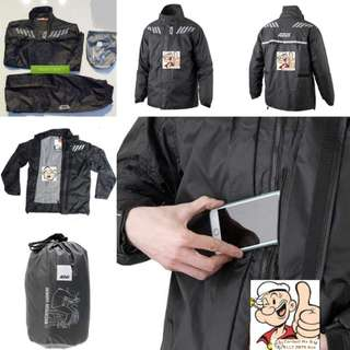 3112*** Givi Raincoat RRS04 Black 🤣🤣Thanks To All My Buyer Support 👌👌