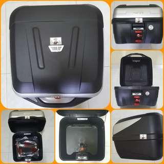 3112--- GIVI BOX B32 BOLD new model 😆😆😆 (YAMAHA SPARK,JUPITER, HONDA, SUZUKI)