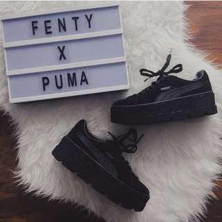 Puma x Fenty Cleated Creeper 黑
