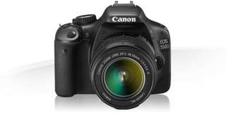 Canon 550D with kit lens