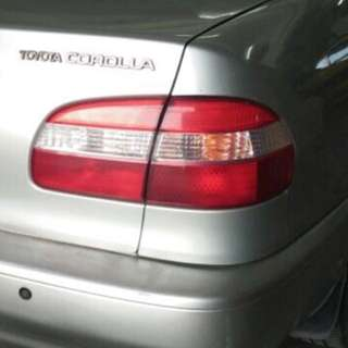 Toyota SEG tail lamp