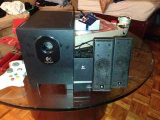Logitech x-240 speakers