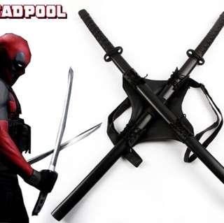 Deadpool Custom Weapons HQ