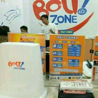 Bolt home wifi dirumah