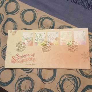 Spices of Singapore fdc 2011.