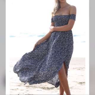 Lost muse Maxi dress in blue