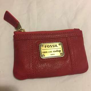 Authentic Fossil Emory wallet