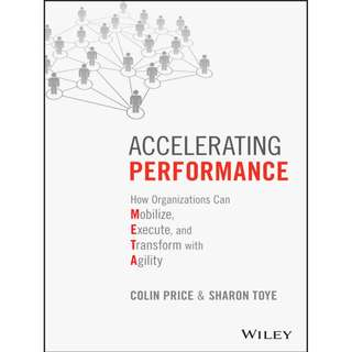 Accelerating Performance: How Organizations Can Mobilize, Execute, and Transform with Agility by Colin Price, Sharon Toye