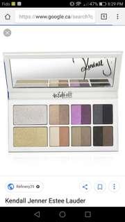 Kendall Jenner Estee Lauder The Edit Eyeshadow Palette
