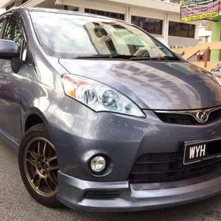 2013 Perodua Alza 1.5 EZ (Auto) Full Bodykits