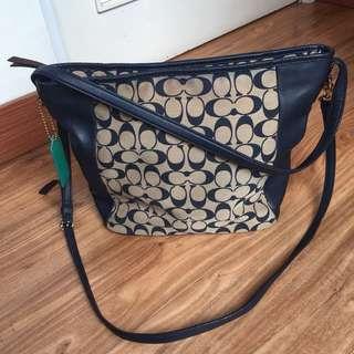 Coach Hand Bag (ada Tali Panjang)