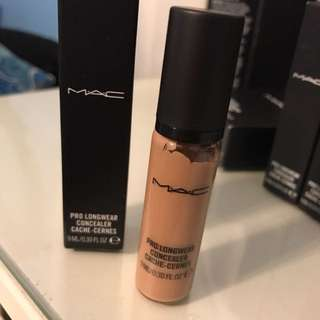 Mac prolong wear concealer nw30