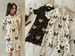 cute cat blouse