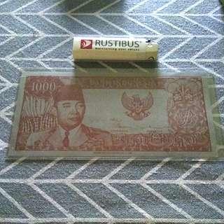 Sukarno 1000 Rupiah