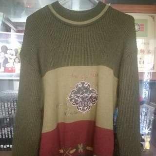 🚚 古著刺繡毛衣 vintage