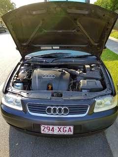 2003 Audi a3 rego + rwc