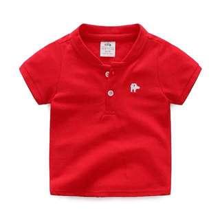 Children's short sleeved Red T- shirt