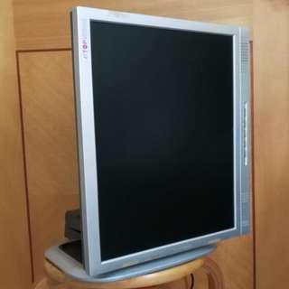 Topcon 17吋 4比3 etop 22-170 w/Speaker 配可多角度90度旋轉 可調較左右及上下升降機架