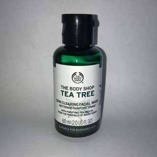 Tea Tree face wash