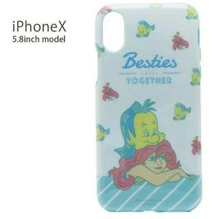 The Little Mermaid 小魚仙iPhone X 手機殼